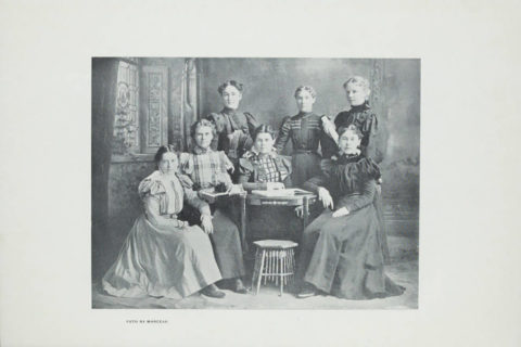 USC Alpha Rho sorority 1898