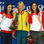 Soni Wins Silver In 100m Breaststroke