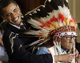 Medal of Freedom Goes to Medicine Crow