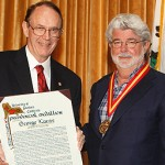 Presidential Medallion Goes to George Lucas