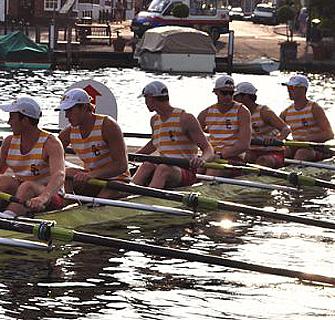 Men's Team Rows Its Way Into Royal Regatta