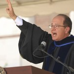 President Welcomes New Trojans at Convocation