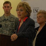 Boxer Lauds USC's Military Social Work Program