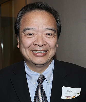 Chuan Lee '86, president of Ming Chuan University in Taiwan, will be among the panelists appearing at Town & Gown on Oct. 13. - lee-chuan