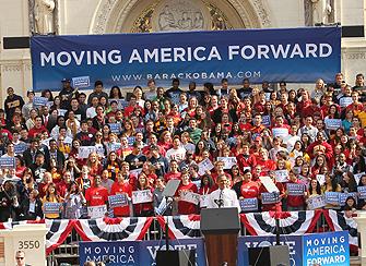 President Obama Speaks at USC