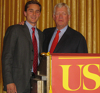 New Scholarship Established in Honor of USC Marshall Dean