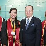 Wall of Scholars Recognizes Academic Achievements