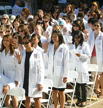 Occupational Therapy Holds First White Coat Ceremony