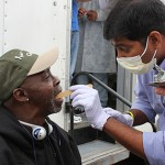 USC Mobile Dental Clinic Cares for Vets