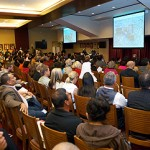 Local Residents Learn About The Village at USC