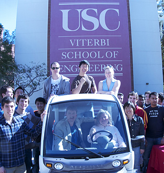 USC Viterbi Students Capture Solar Power for Electric Cars