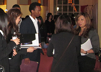 Career Center's Diversity Mixer Keeps Things Casual