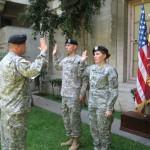 ROTC members at USC