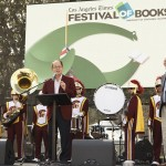 Nikias, Hartenstein and Thomson at the Festival of Books