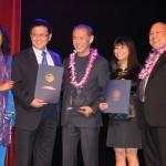 Honored at APASS celebration