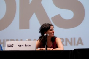 "Aimee Bender participates in the panel discussion ""Fairy Tales."""
