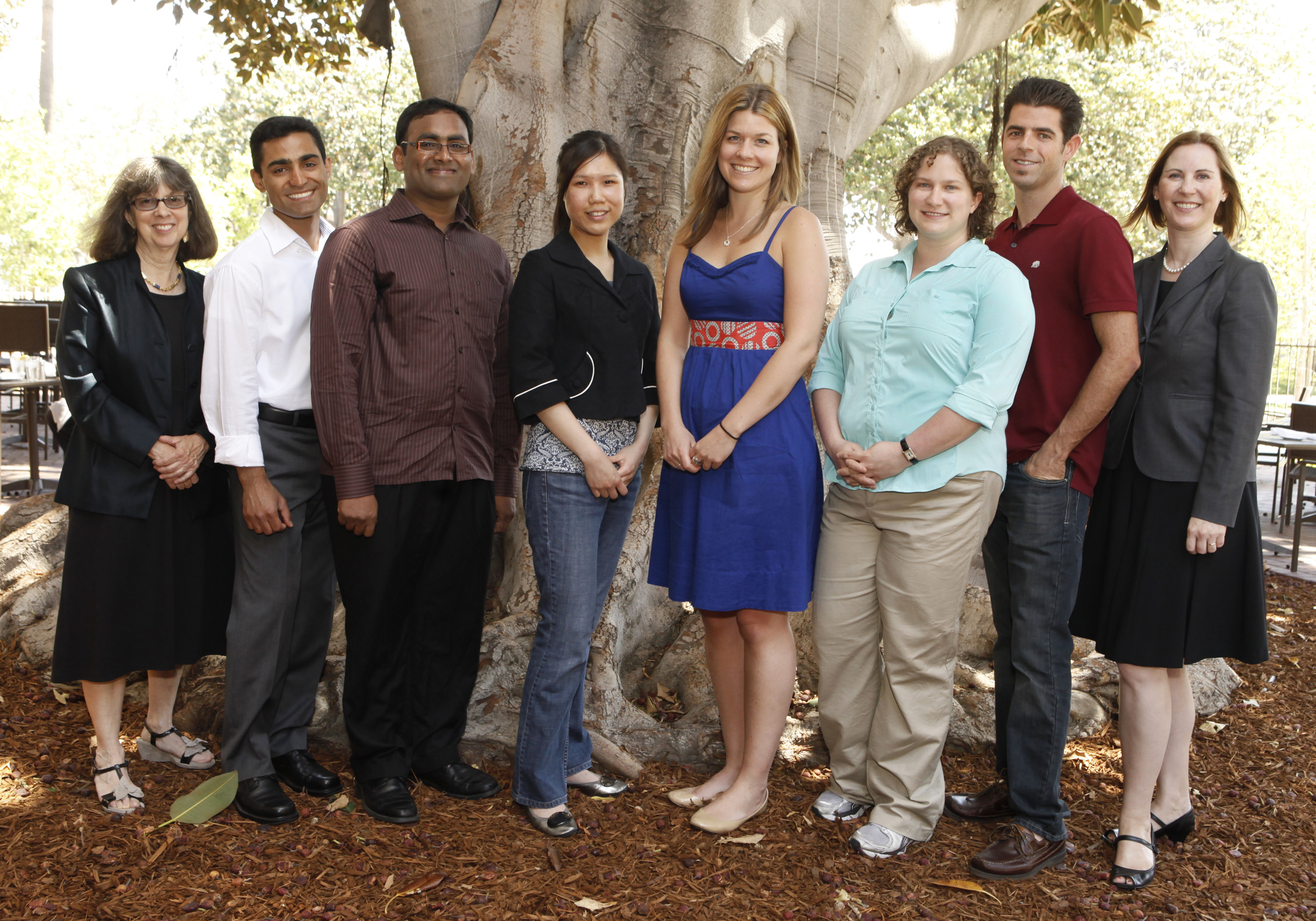 2012 USC Ph.D. Achievement Award recipients