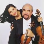 Karen Dreyfus and husband Glenn Dicterow