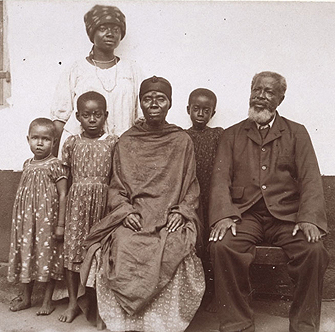 Missionary Rudolf Fisch shot this photograph, part of the International Mission Photography Archive, in early 20th-century Ghana. (Photo/Courtesy of the Basel Mission Image Archive)