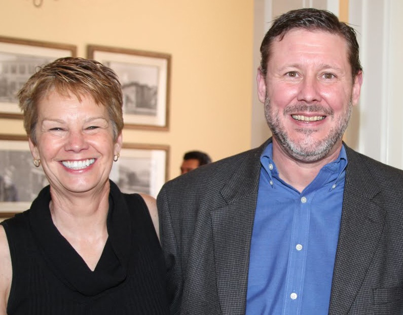Amy Ross and Brian Gilad Wilson