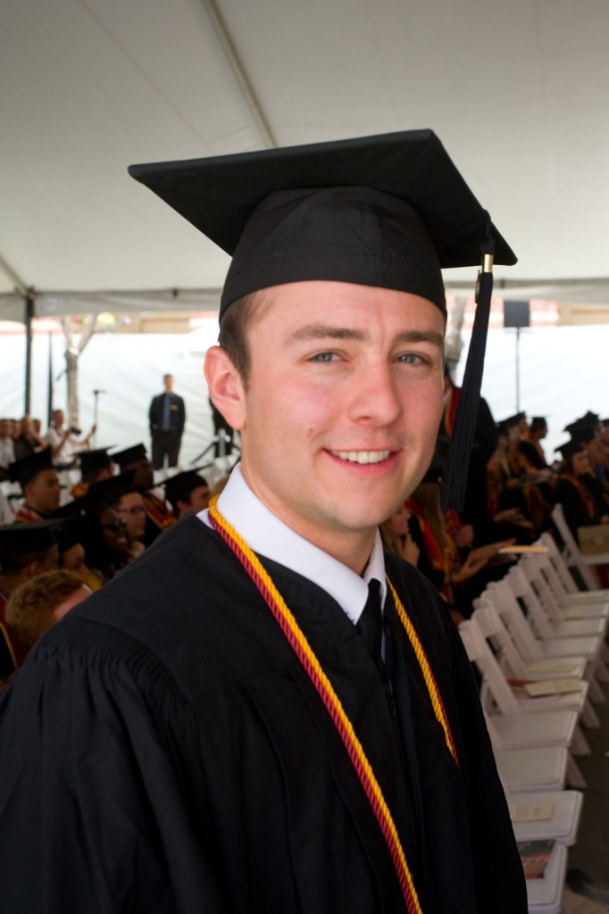 2012 USC Price Valedictorian David Bennett