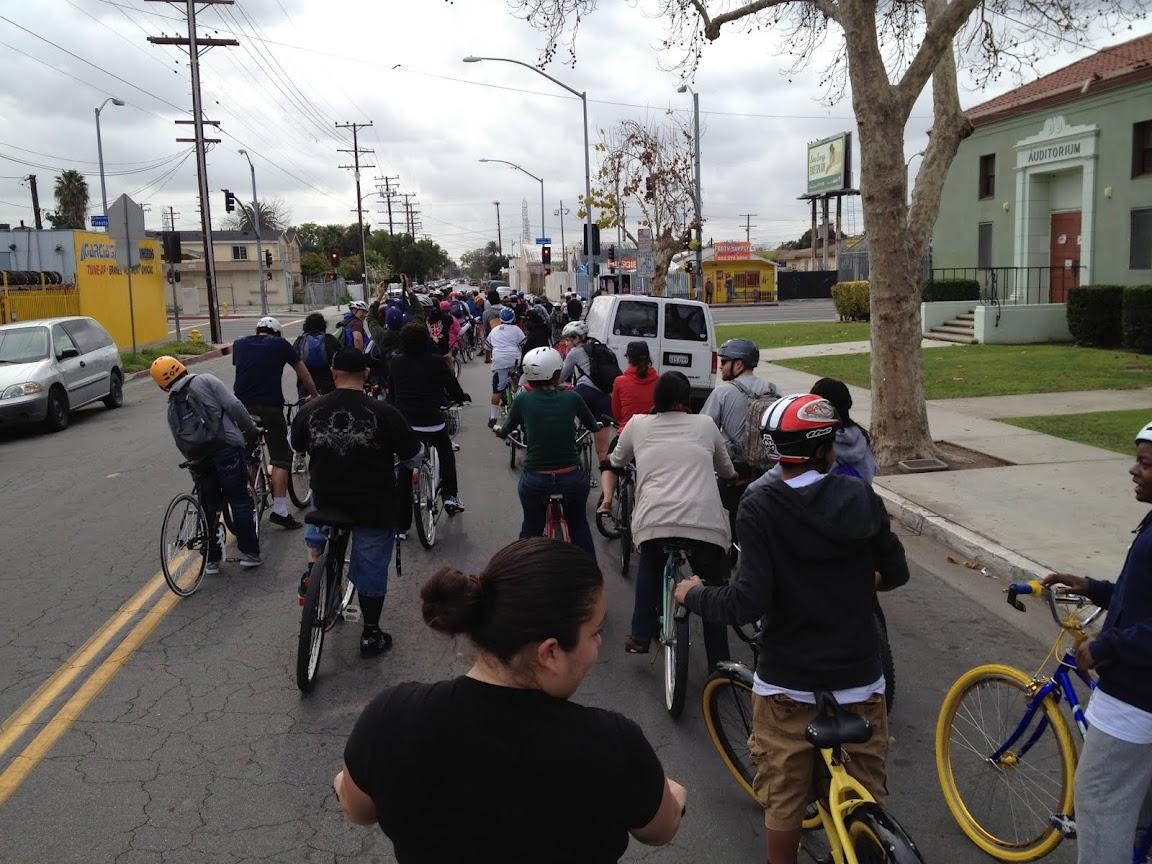 South LA Bike map project