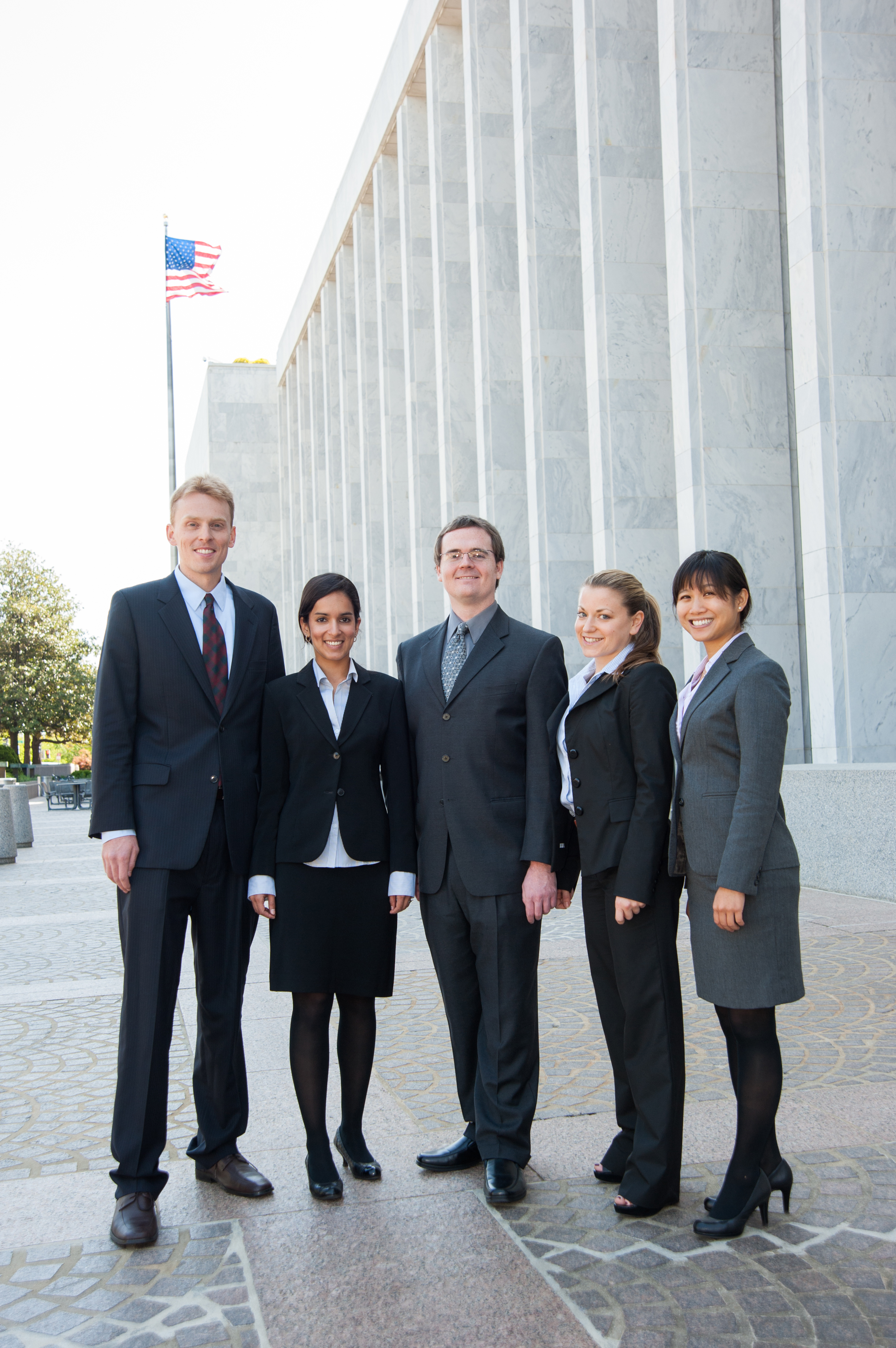 USC Price students deliver a presentation on their practicum project in Washington, D.C.