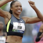 Allyson Felix goes for the gold in London