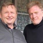 Martin Gundersen and actor William Atherton