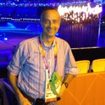Alan Abrahamson, a lecturer at USC Annenberg, covered the Olympics for NBC and his own website.