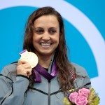 Rebecca Soni wins her second gold in the 200-meter breaststroke