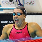 Rebecca Soni sets world record