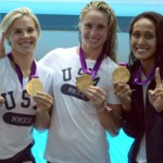 From left, Kami Craig, Lauren Wenger and Tumua Anae (Photo/Courtesy of USC Athletics)