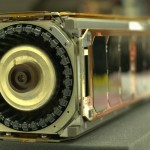 USC's second CubeSat, Aeneas was built by the Space Engineering Research Center at USC's Information Sciences Institute. (Photo/Courtesy of the USC Space Engineering Research Center)