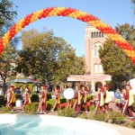 Nearly 4,000 parents arrive on the USC campus for Trojan Family Weekend. (Photo/Nathan Carter)