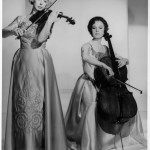 Alice, left, and Eleonore Schoenfeld were internationally renowned classical performers who toured the world's great music halls as the Schoenfeld Duo. (Photo/Courtesy of Alice Schoenfeld)