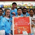 Dental hygiene students have participated in the Great American Smokeout for seven years. (Photo/Keni Nooner)