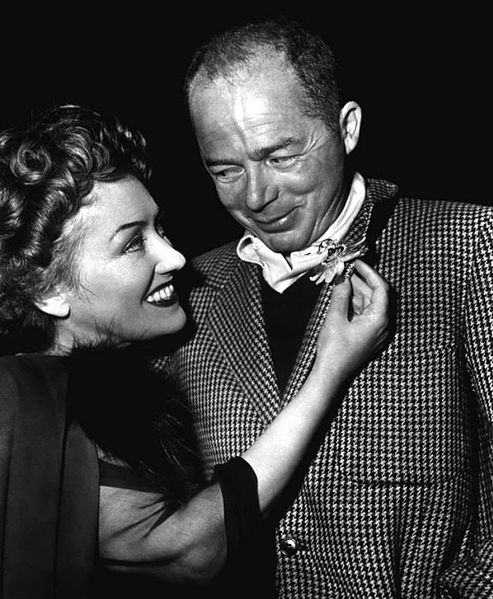 Gloria Swanson starred in Sunset Boulevard for director Billy Wilder.