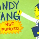 Doctoral student Candy Hwang is depicted in a video, created with USC School of Cinematic Arts animators, which earned two awards in a National Science Foundation competition.