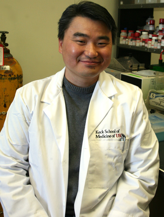 Derick Han, Ph.D., assistant professor of research medicine at the Keck School of Medicine of USC