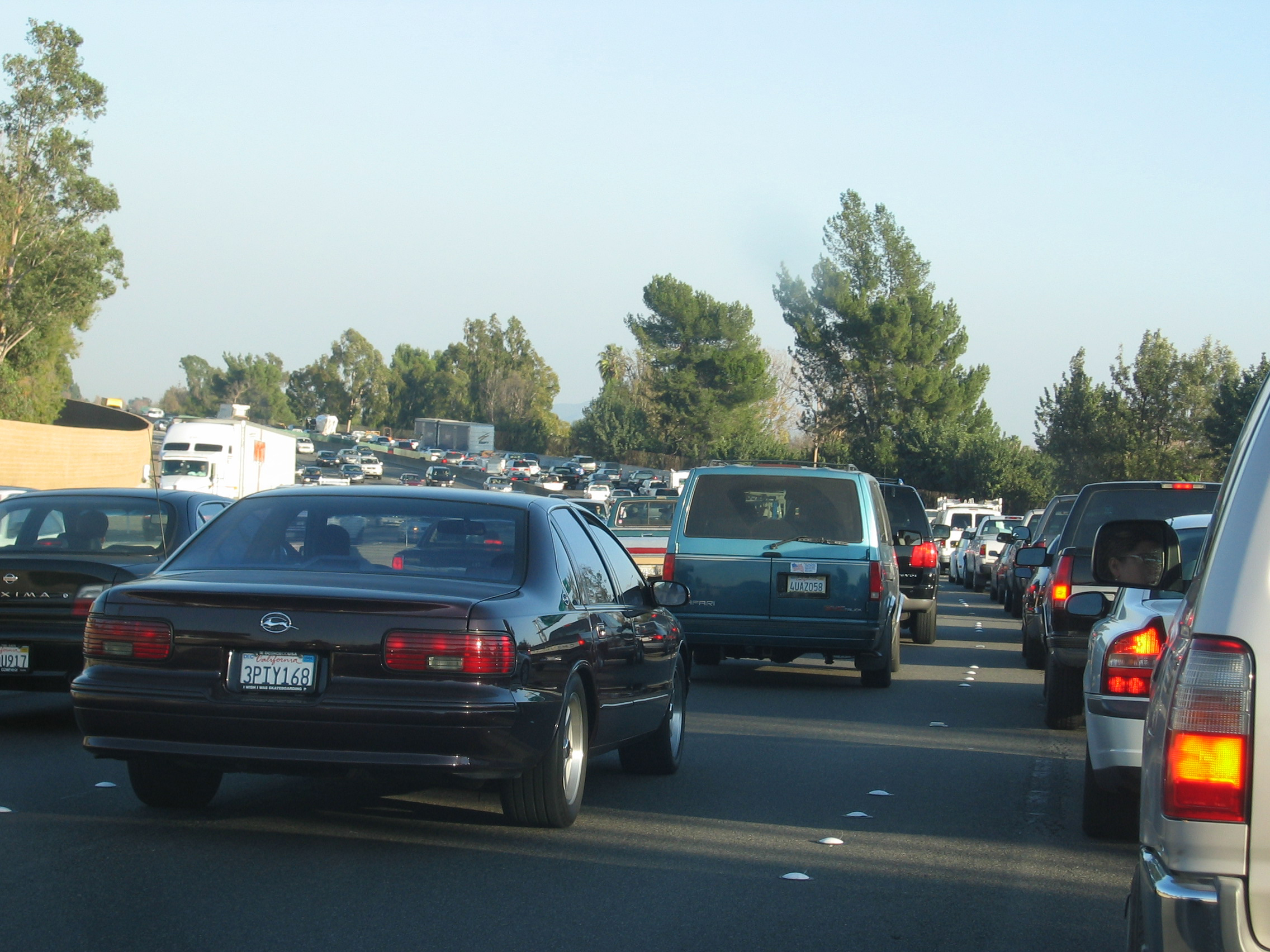 Drivers waste an average of 56 hours per week stuck in traffic.