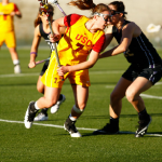 Amanda Johansen of the USC Women's Lacrosse Team