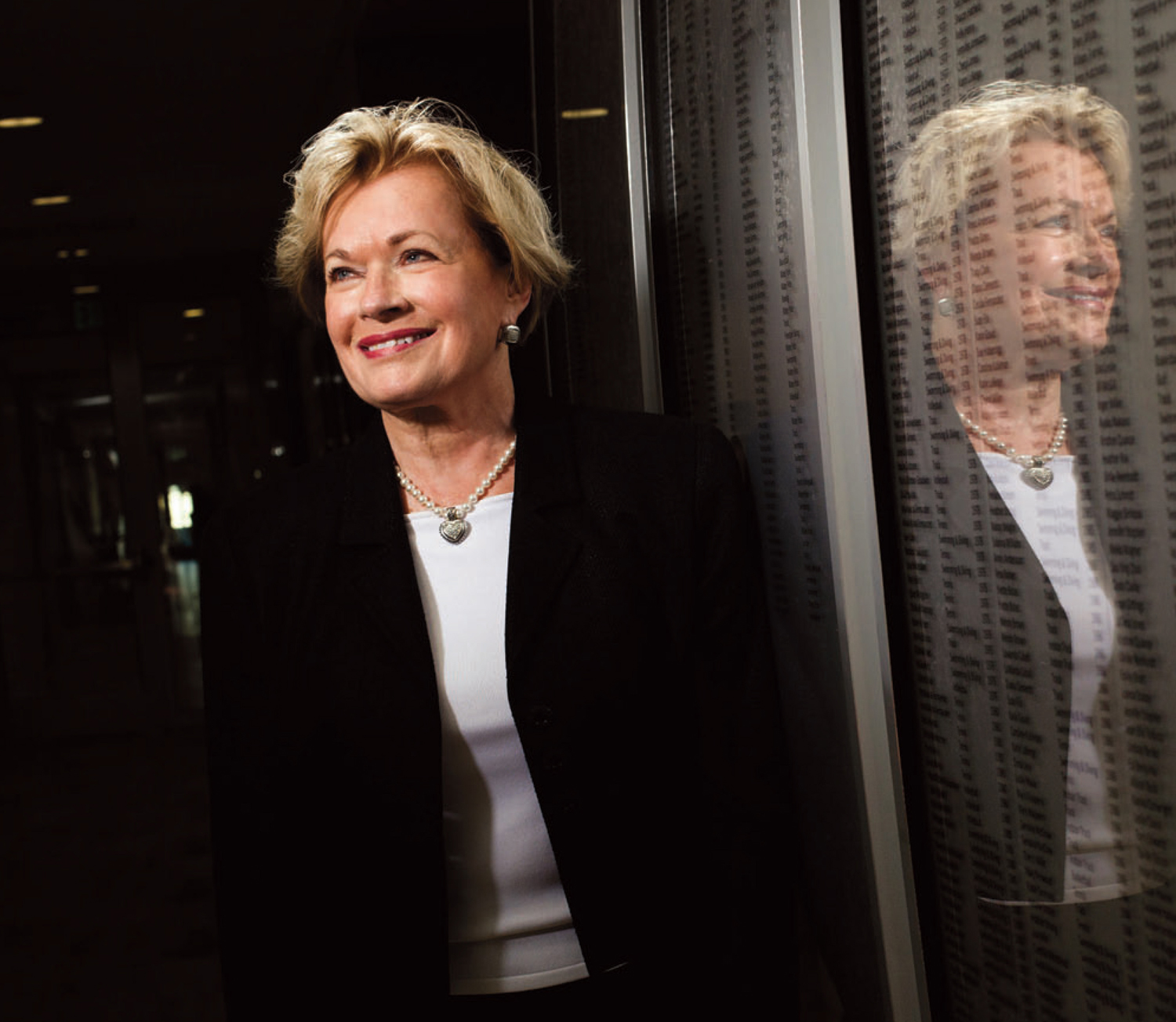 Barbara Hedges, who created a new era for women's sports at USC during her first 18-year term, has returned to the university to help female student-athletes. (Photo/Two Point Pictures)