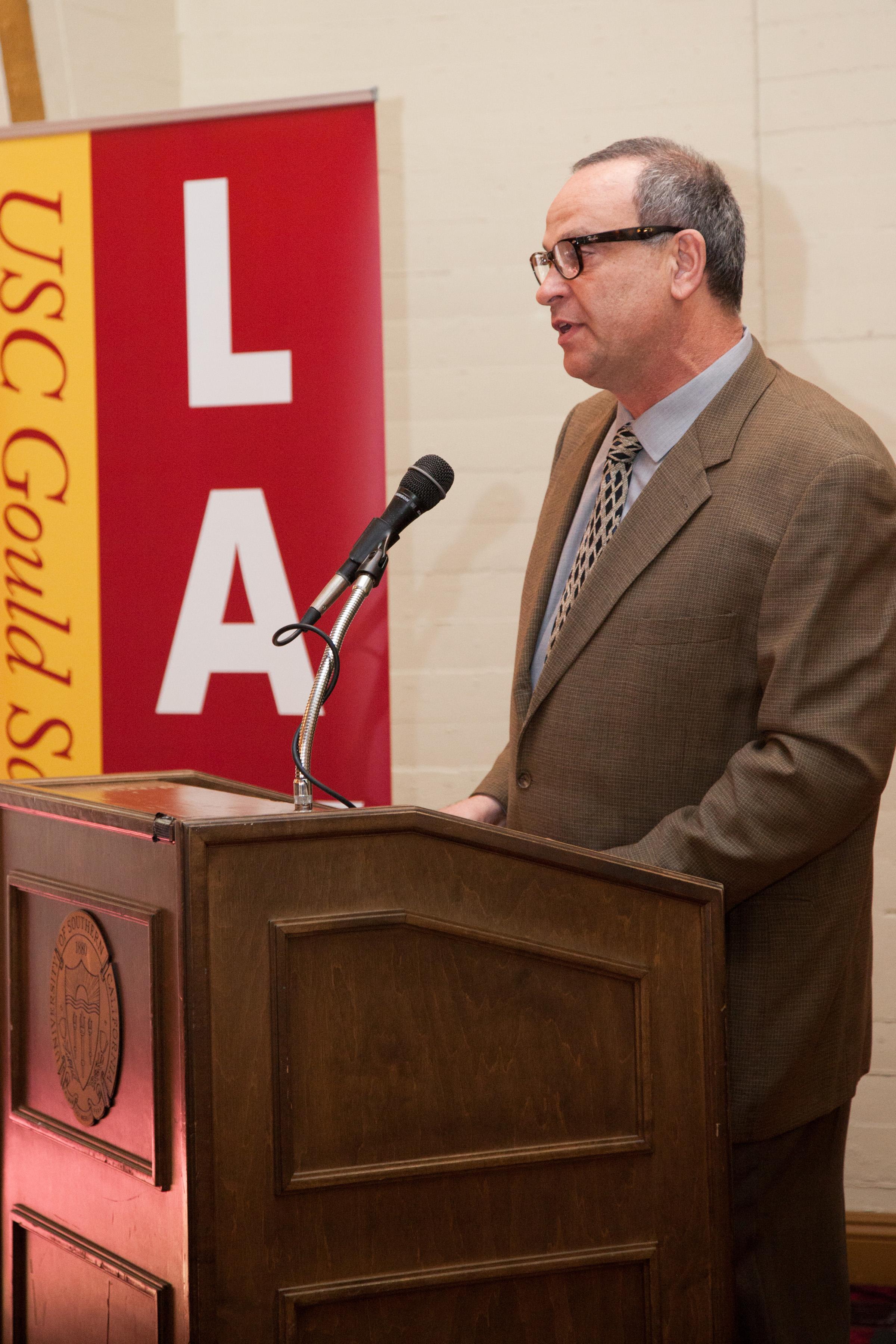 Simon installed as Crutcher Professor - USC News