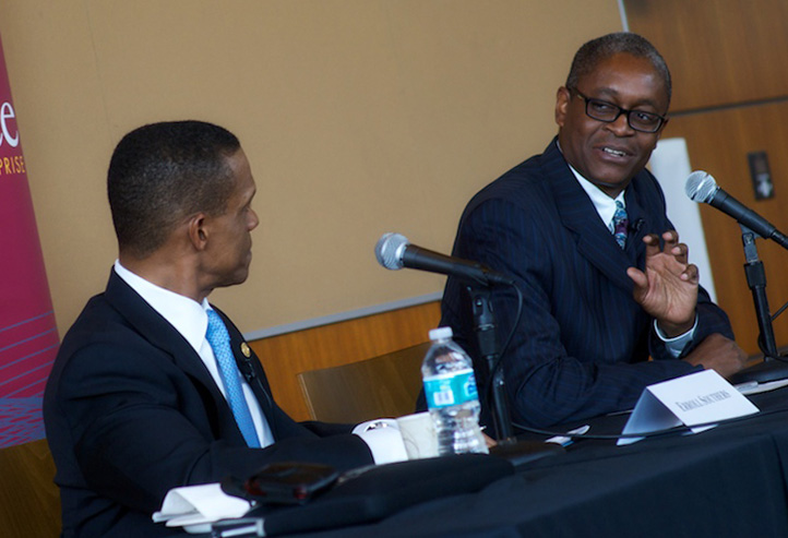 Erroll Southers and Raphael Bostic
