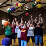 USC's Fit Families program provides pro bono preventive and wellness physical therapy services to underserved elementary school-aged children. (Photo/Dietmar Quistorf)