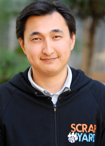 Talgat Duisenov, a native of Kazakhstan, is studying game development at the USC  Viterbi School of Engineering. (USC Photo/Lillian Insalata)