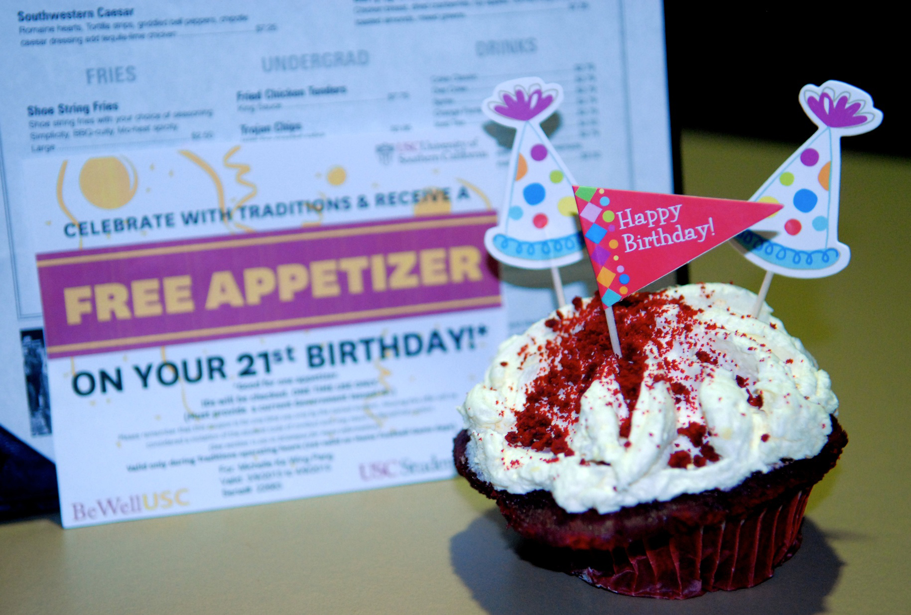 Student Affairs wishes students a safe 21st birthday USC News