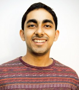 Abhishek Verma, a biological sciences major at USC Dornsife