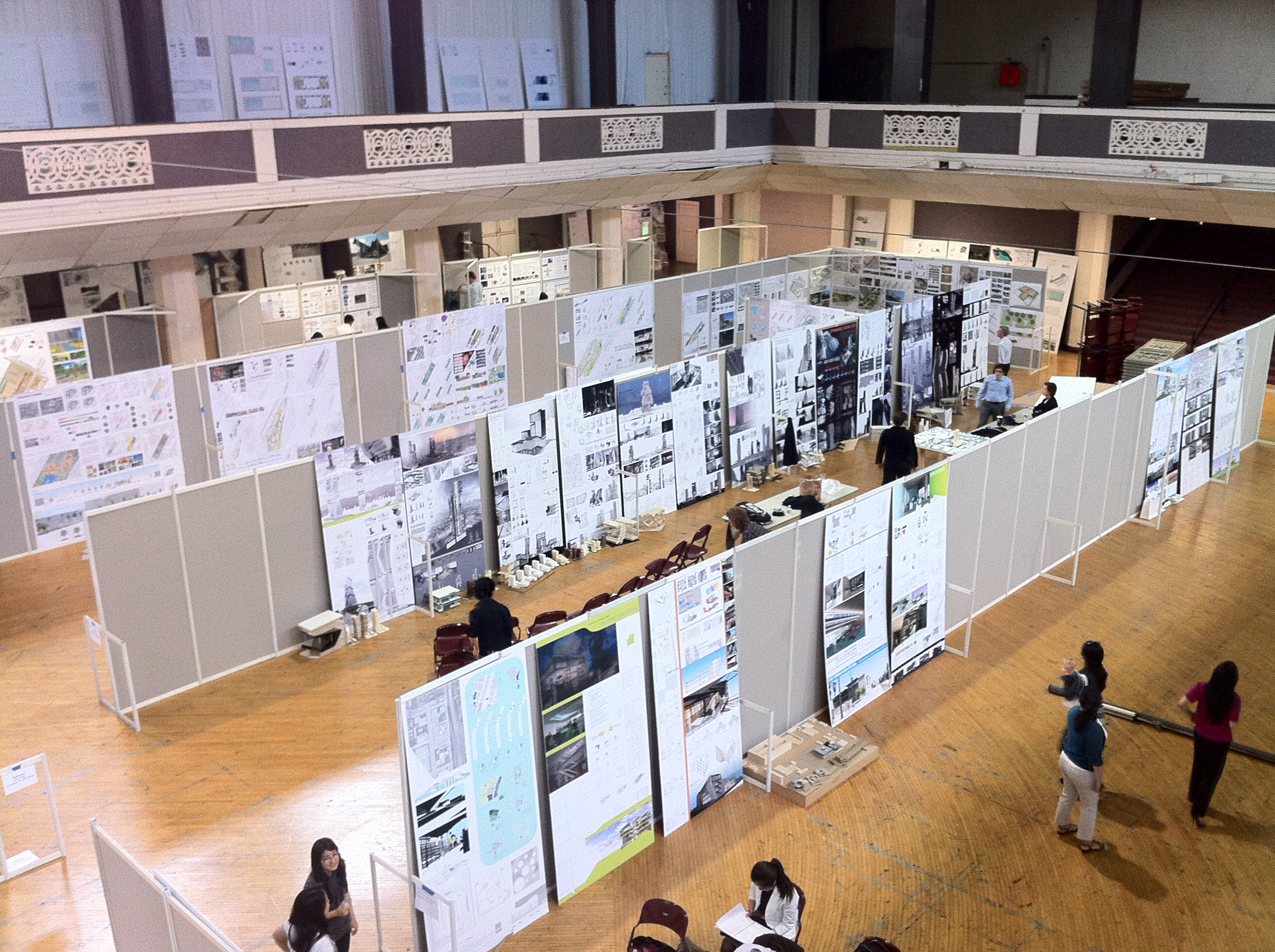 Architecture students to receive final reviews at exhibition